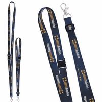 "755988109-138 - 5/8"" Universal Source™ Adjustable Polyester Lanyard - 4 Color - thumbnail"