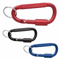 765537426-138 - Good Value® Keyring Carabiner w/Lock - thumbnail