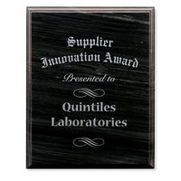 "785470145-138 - 8""x10"" Jaffa® Black Marble Plaque - thumbnail"