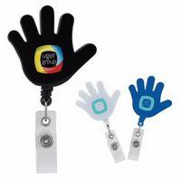 785472422-138 - Good Value® Hi Five Badge Holder - thumbnail