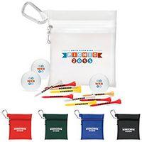 785472620-138 - Large Pouch Golf Kit w/ 3 Titleist® DT TruSoft™ Golf Balls - thumbnail
