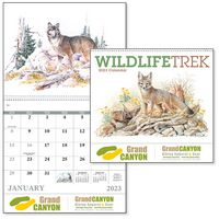 795471308-138 - Good Value® Wildlife Trek Calendar (Spiral) - thumbnail