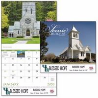 915471247-138 - Good Value® Scenic Churches Calendar (Stapled) - thumbnail