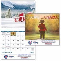 915919510-138 - Good Value® I Love Canada Calendar (Spiral) - thumbnail
