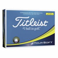 935982320-138 - Titleist® Tour Soft Yellow Golf Ball - thumbnail