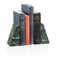 945470168-138 - Jaffa® Verde Marble Bookends - thumbnail