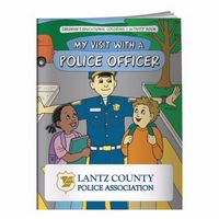 965960857-138 - BIC Graphic® Coloring Book: My Visit w/A Police Officer - thumbnail