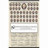 985470747-138 - Triumph® Presidents Hanger Span-A-Year Calendar - thumbnail