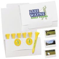 "995470415-138 - BIC Graphic® 6-2 Golf Tee Packet w/2 Ball Markers - 2 1/8"" Tees - thumbnail"