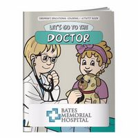 995928881-138 - BIC Graphic® Coloring Book: Let's Go To The Doctor - thumbnail