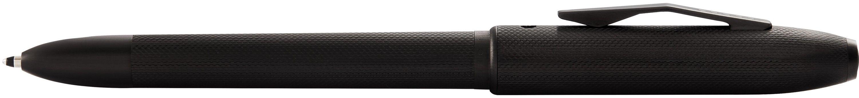 706442860-126 - TECH4+™ Textured Black PVD w/ Machine-turned, Diamond-pattern Engravings Multifunctional Pen/Pencil - thumbnail