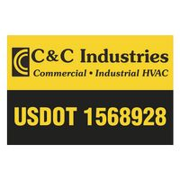 "145932398-183 - Rectangle w/ Square Corners Truck Signs & Equipment Decal (12 1/4""x18 1/2"") - thumbnail"