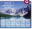 153729915-183 - Ultra Thin Calendar Mouse Pads w/ Stock Background - Mountain Lake - thumbnail