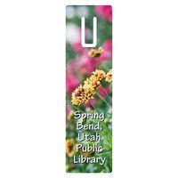 """162536138-183 - Full Color Rectangle Vinyl Plastic Bookmark w/ Slot (0.02"""" Thick) - thumbnail"""