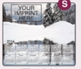 353729819-183 - Stock Art Background Hard Surface Calendar Mouse Pads - Winter Lake - thumbnail