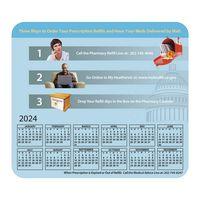 585932572-183 - Hard Surface Calendar Mouse Pads with Horizontal Calendar - thumbnail