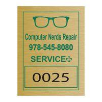 "735446930-183 - Rectangle Idento Vinyl Identification Decal (1 1/2""x2"") - thumbnail"