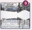 753729919-183 - Ultra Thin Calendar Mouse Pads w/ Stock Background - Winter Lake - thumbnail