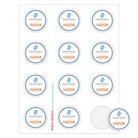 """935529292-183 - Round Sheeted Button Sticker Labels (2"""" Diameter) - thumbnail"""