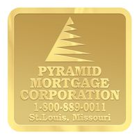 """951578642-183 - Square Embossed Foil Roll Seal (1 1/4""""x1 1/4"""") - thumbnail"""