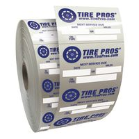 """954033549-183 - Roll of Clear Static Cling Decals for Car Windshield (1 1/2""""x2 1/4"""") - thumbnail"""