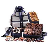 176464032-117 - Silver & Navy Tower of Sweets - thumbnail