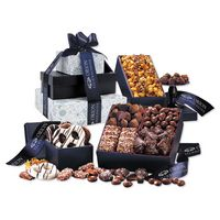 185703683-117 - Silver & Navy Tower of Sweets - thumbnail