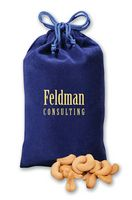 325373505-117 - Extra Fancy Jumbo Cashews in Blue Velour Gift Bag - thumbnail