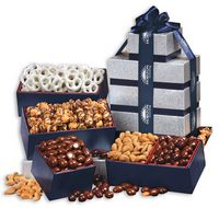 534828272-117 - Silver & Navy Tower of Treats - thumbnail