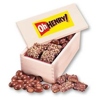 552755850-117 - Toffee & Chocolate Almonds in Wooden Collector's Box (4 Color Process) - thumbnail