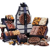 576464038-117 - Silver & Navy Executive Gourmet Tower - thumbnail