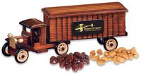 774828359-117 - 1930-Era Tractor-Trailer with Chocolate Almonds & Cashews - thumbnail
