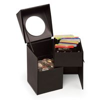 935336048-117 - Faux Leather Desktop Storage Box - thumbnail