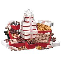 "995703858-117 - ""Park Avenue"" Tower of Chocolate in Red - thumbnail"