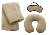 543462041-814 - Travel Set w/ Blanket, Pillow & Mask - thumbnail