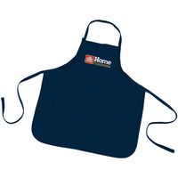 593463883-814 - Long Cotton Poly Twill Apron/ Large - X-Large - thumbnail