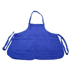 903463859-814 - Long Cotton Poly Twill Apron/ Small - Med - thumbnail
