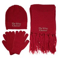 993461804-814 - Knitted Winter Set - thumbnail