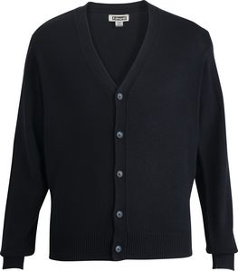 376499686-822 - Jersey Knit Acrylic Cardigan - thumbnail