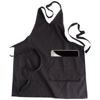 751216695-822 - 2-Pocket V-Neck Bib Apron - thumbnail