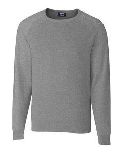 146361265-106 - Lakemont Mixed Stitch Crew Sweater Big & Tall - thumbnail