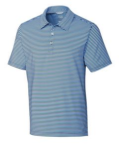 165260820-106 - Men's Cutter & Buck® Division Stripe Polo Shirt (Big & Tall) - thumbnail
