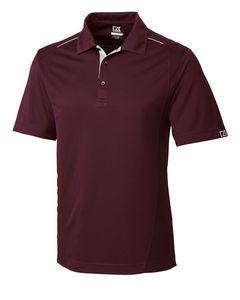 174934780-106 - Men's Cutter & Buck® DryTec Foss Hybrid Polo Shirt - thumbnail