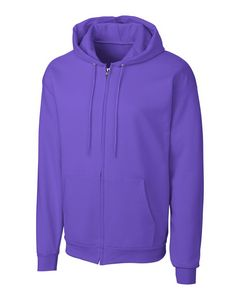 194497348-106 - Adult Clique® Fleece Full Zip Hoodie (5XL-7XL) - thumbnail