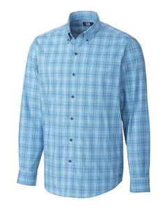 196276675-106 - Soar Fine Line Plaid Shirt - thumbnail