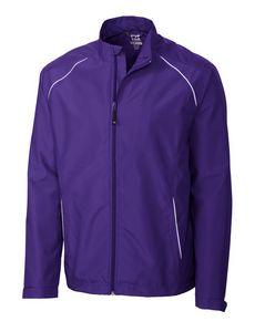 334494153-106 - Men's Cutter & Buck® WeatherTec™ Beacon Full-Zip Jacket (Big & Tall) - thumbnail