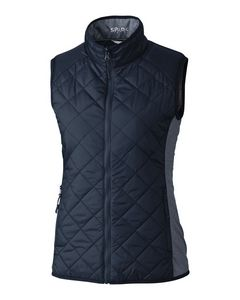 345707765-106 - Ladies' Cutter & Buck® Weathertec™ Sandpoint Quilted Vest - thumbnail