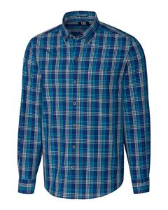 366361203-106 - L/S Non-Iron Sutton Check Big & Tall - thumbnail