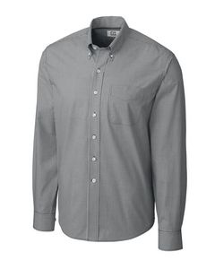 384494103-106 - Men's Cutter & Buck® Epic Easy Care Gingham Shirt (Big & Tall) - thumbnail