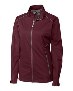 395256072-106 - Ladies' Cutter & Buck® WeatherTec™ Opening Day Softshell Jacket - thumbnail